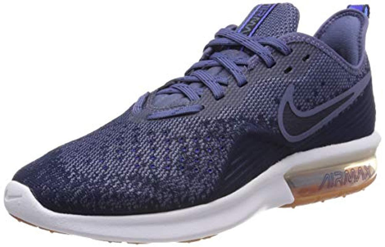 Nike Air Max Sequent 4 Gymnastics Shoes in Blue for Men - Lyst a12abb80f6b62