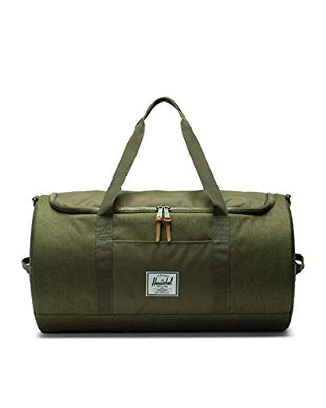 5c1e5e83f3be Lyst - Herschel Supply Co. Sutton Duffel Bag in Green for Men