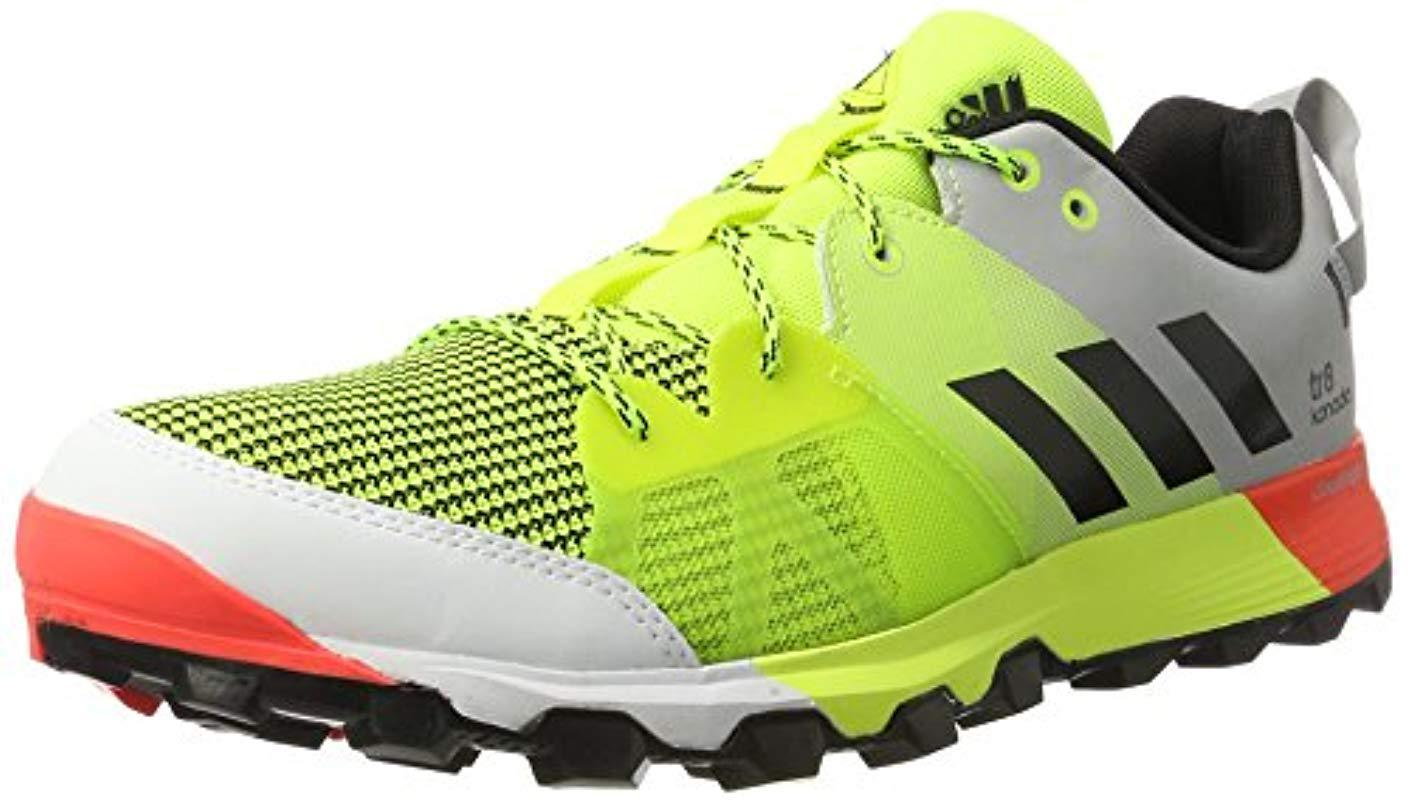 low priced e1ca2 1594d adidas Kanadia 8 Tr M,  s Competition Running Shoes for Men - Lyst