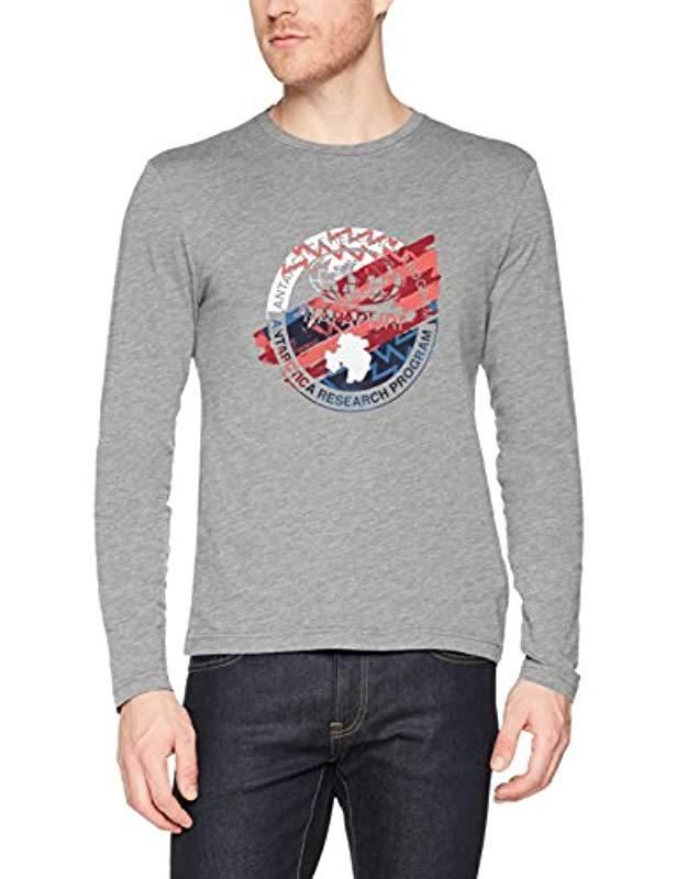 662392d9c Napapijri Sat T-shirt in Gray for Men - Lyst