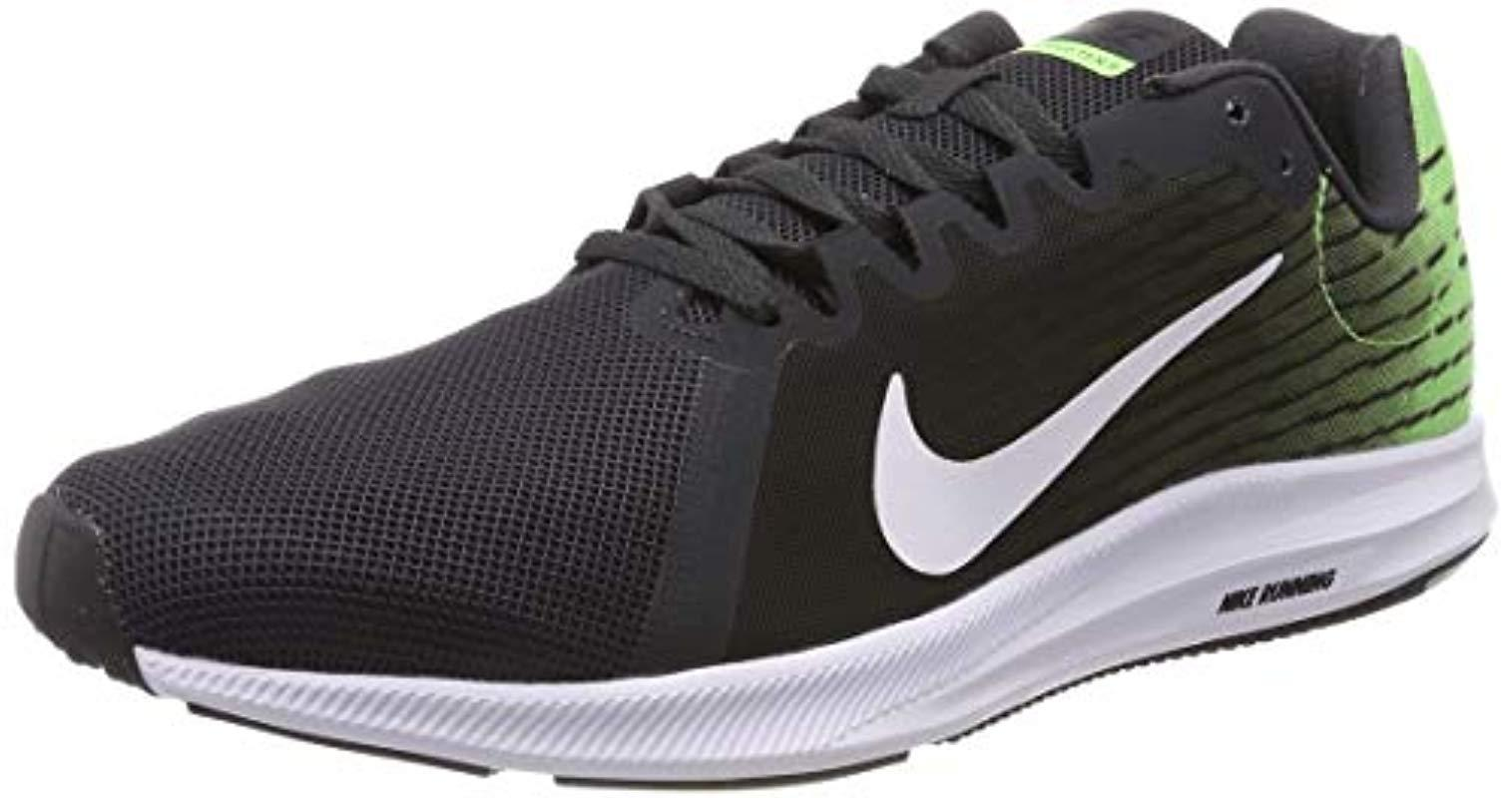 best sneakers 78972 f3bd4 Nike Downshifter 8 Running Shoes, Multicolour (anthracite white lime ...