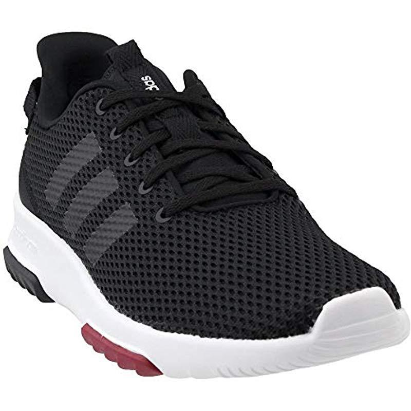ba982e17473a9 Lyst - adidas Cf Qt Racer Running Shoe in Black - Save ...