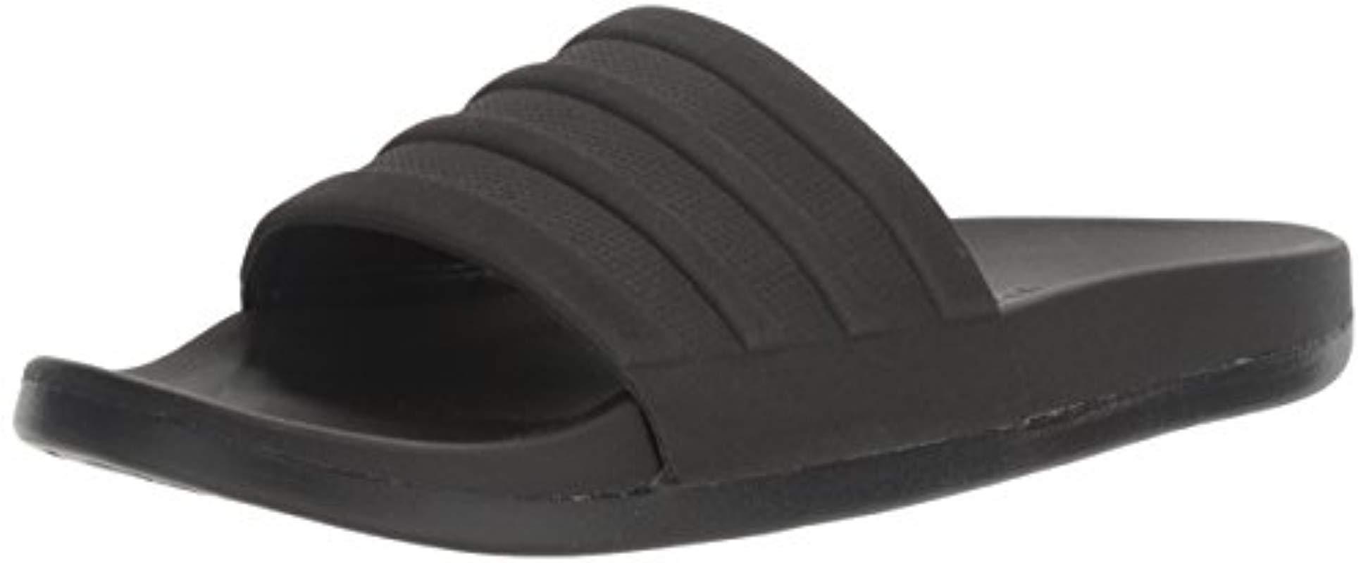 e31eab42ee41 adidas. Men s Adilette Comfort Slide Sandal Black ...