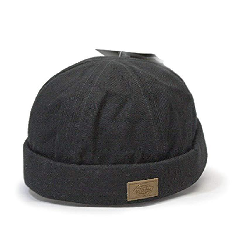 size 40 94675 66195 Dickies Canvas Docker Cap in Black for Men - Lyst