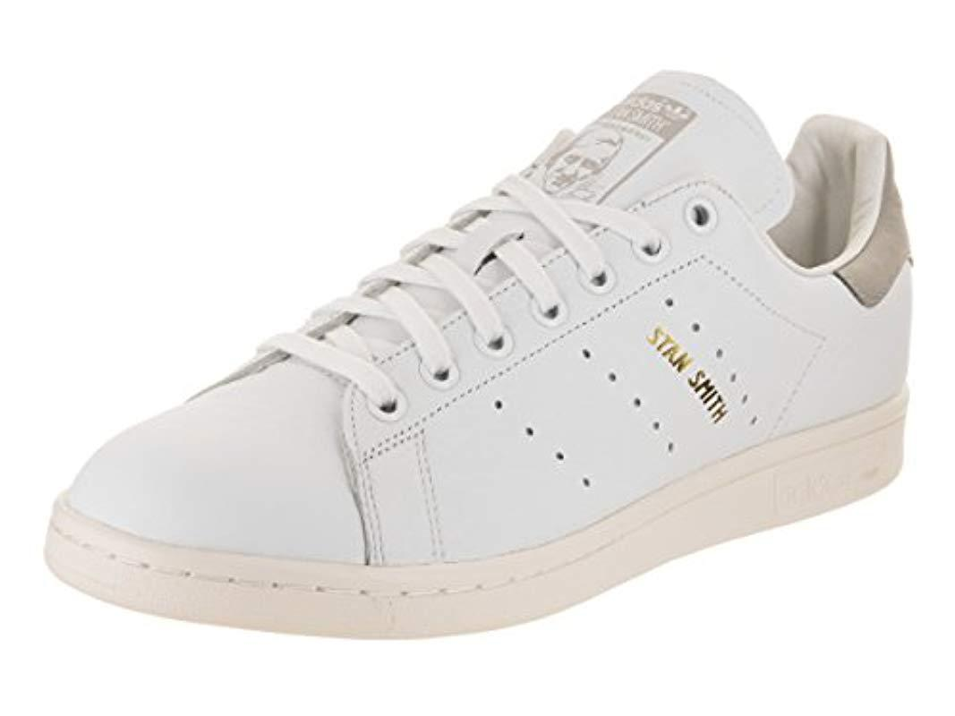 buy online d7a48 78e93 adidas-Ftwwht-Fwwwht-Cgrani-Originals-Unisex-Adults-Stan-Smith-Low-top -Sneakers.jpeg