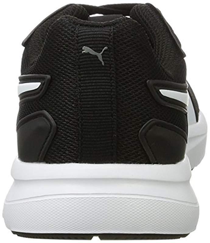 7a8cd436f83a52 PUMA - Black Unisex Adults  Escaper Mesh Low-top Sneakers for Men - Lyst.  View fullscreen