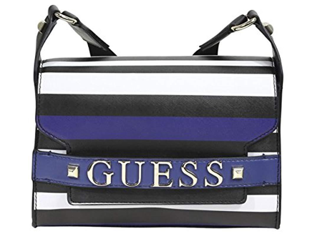 Lyst - Guess Felix Stripe Shoulder Bag 6b93de66d6bef