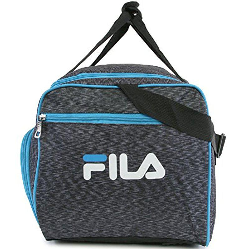 Lyst - Fila Source Sm Travel Gym Sport Duffel Bag in Blue for Men 80fc8ebed049c