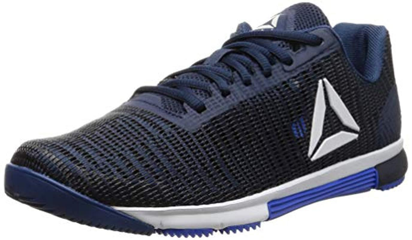 Reebok Speed Tr Flexweave Fitness Shoes in Blue for Men - Lyst b14789b96