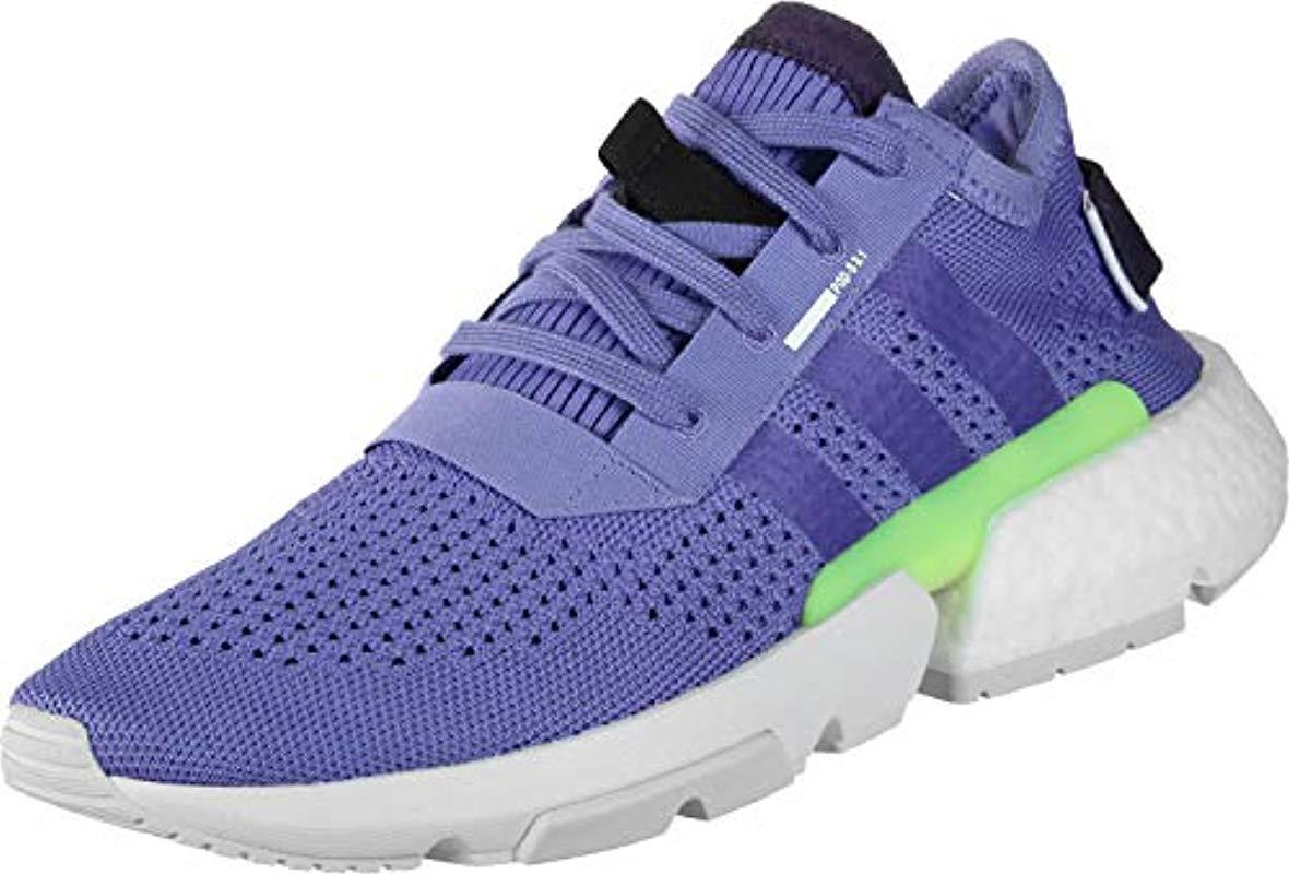 on sale f942b 5d719 adidas Pod-s3.1 Fitness Shoes Black in Purple for Men - Lyst