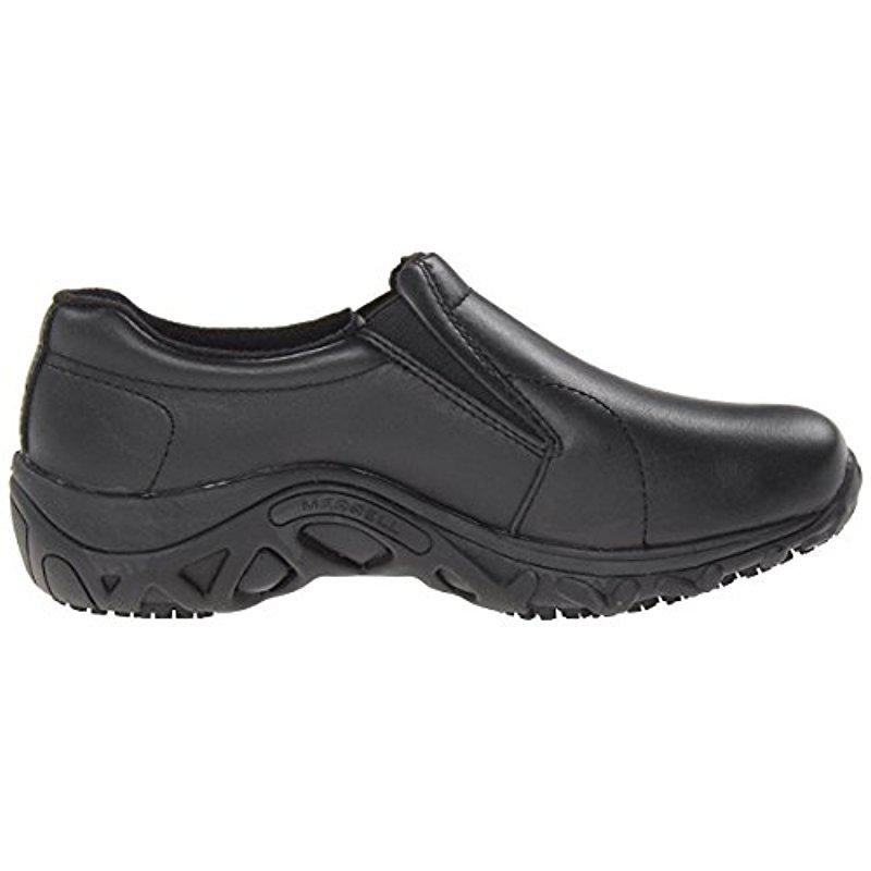 467320a7de3a Lyst - Merrell Jungle Moc Pro Grip Slip-resistant Work Shoe in Black ...