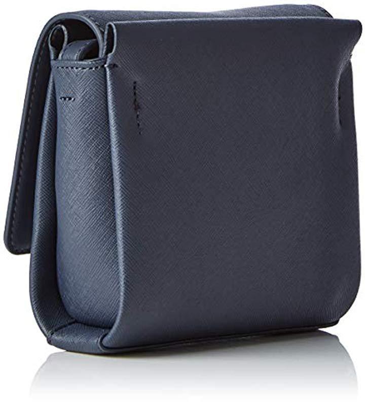 Calvin Klein - Black M4rissa Flap Crossbody Cross-body Bag - Lyst. View  fullscreen 5df3f632e22d2