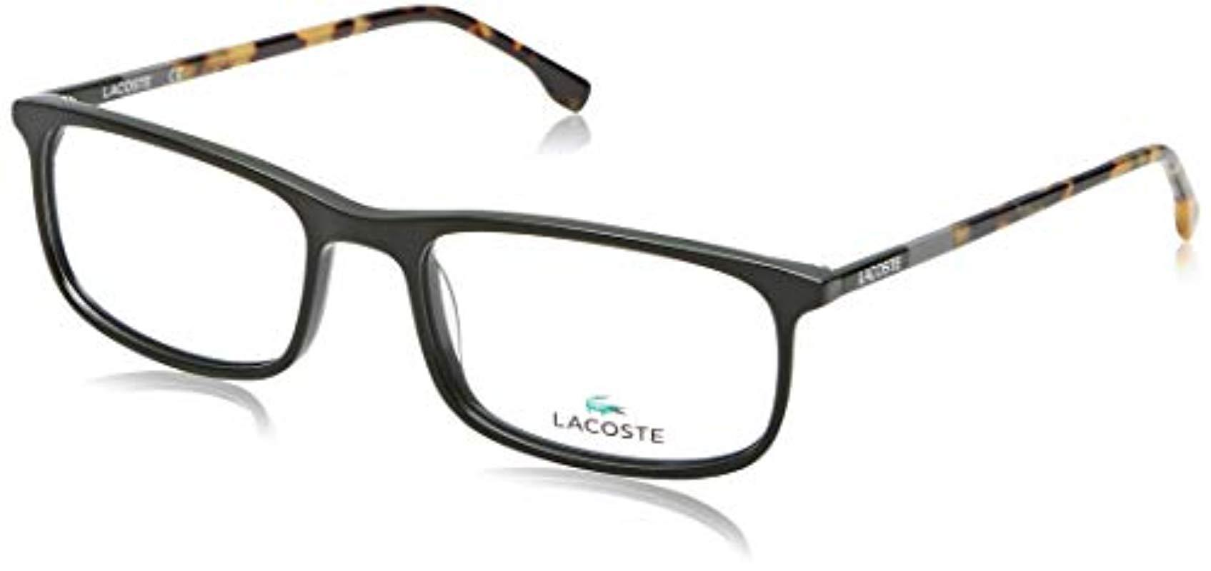 fa1c6c83587 Lacoste L2808 L2808 315 53 Rectangular Optical Frames 53