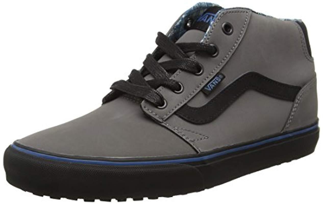 70d448e029 Vans Chapman Mid Mte Hi-top Sneakers in Gray for Men - Lyst