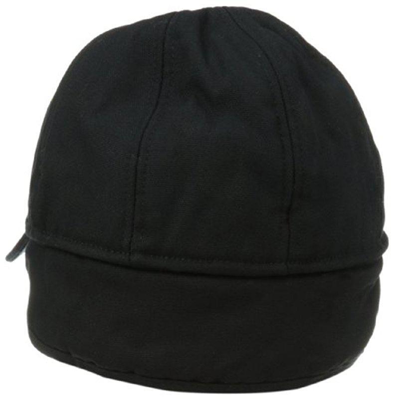 f9b3659cfc1 Carhartt - Black Workflex Ear Flap Cap for Men - Lyst. View fullscreen
