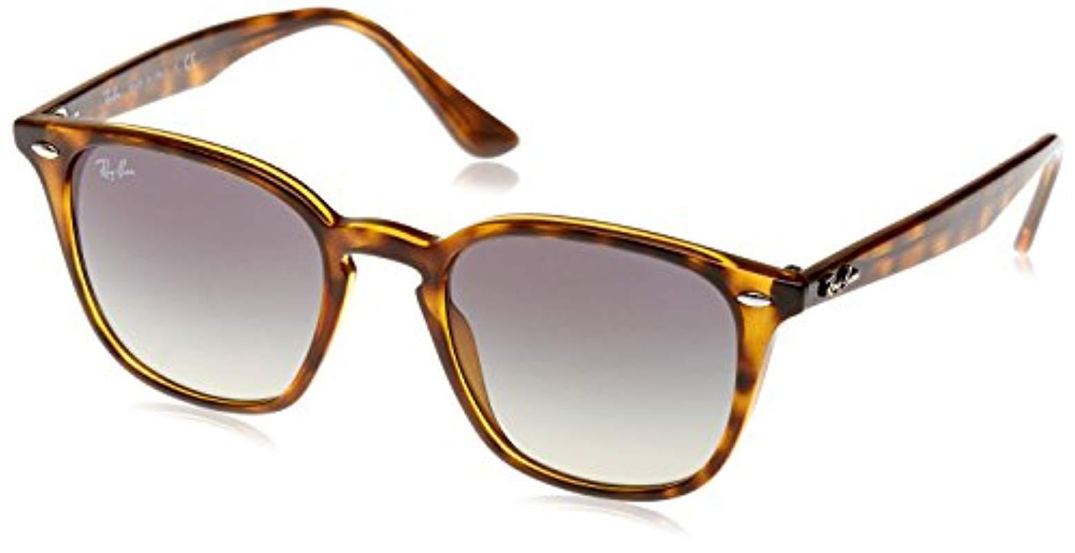 b897ad3ce1 Lyst - Ray-Ban Rb4258 Keyhole Sunglasses in Brown - Save 2%
