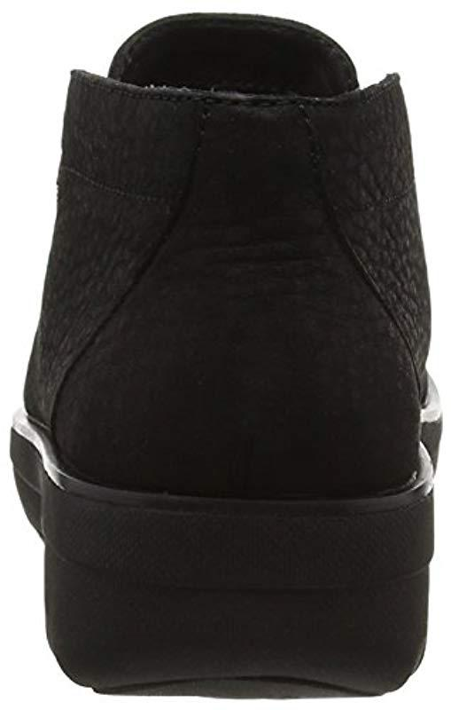 c18bb2c2a Fitflop - Black Loaff Lace-up Ankle Boot - Lyst. View fullscreen