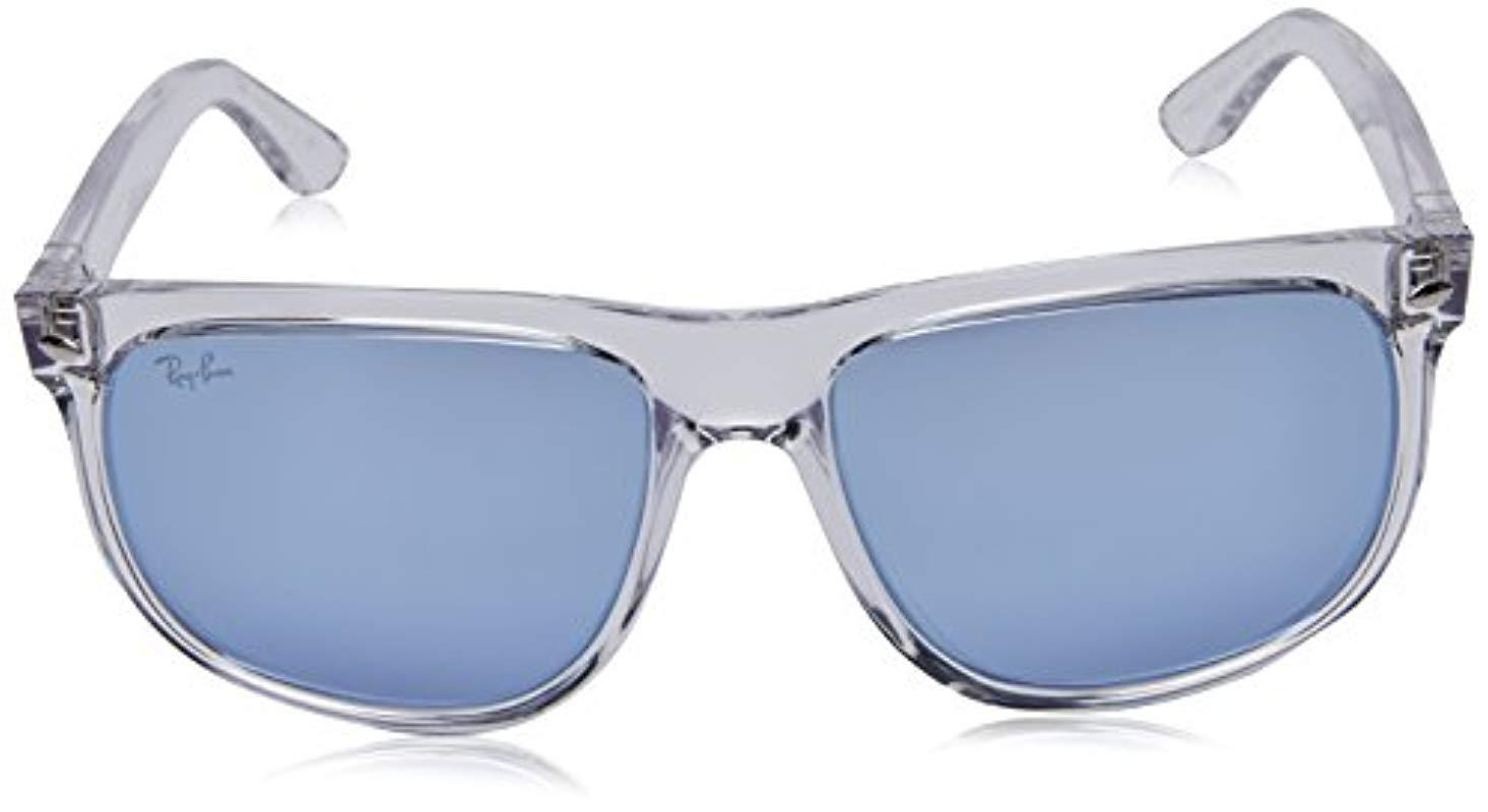 64e294a113 RAYBAN 0rb4147 63251u 56 Gafas de Sol, Transparente 55 para Hombre ...