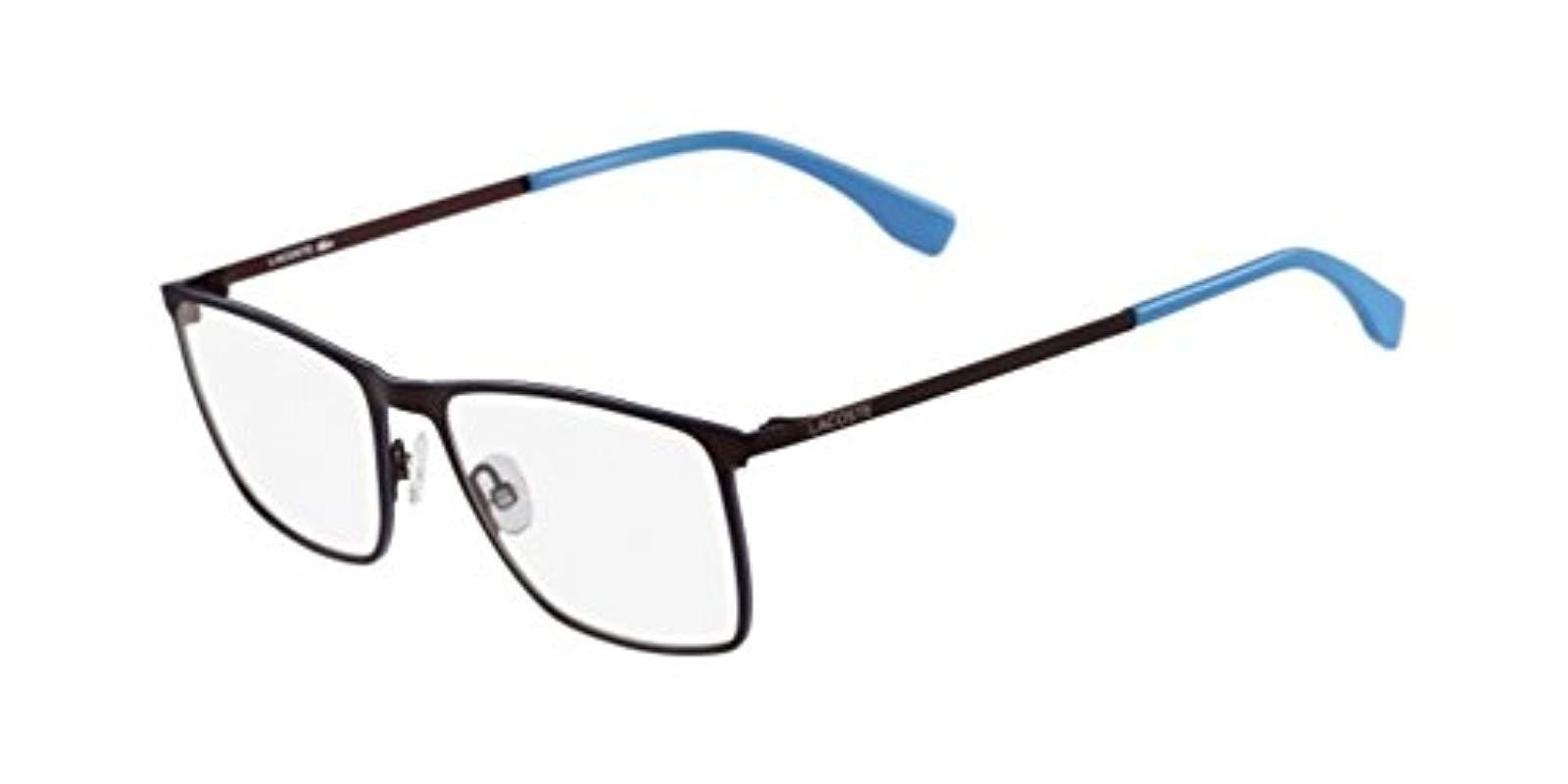 Lacoste L2223 615 54 Optical Frames, Matte Red in Blue for Men - Lyst cb21616d4264
