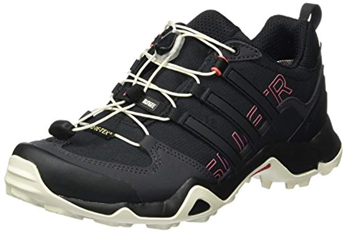 online store 13091 5d15d adidas s Terrex Swift R Gtx W Hiking Shoes in Black - Lyst