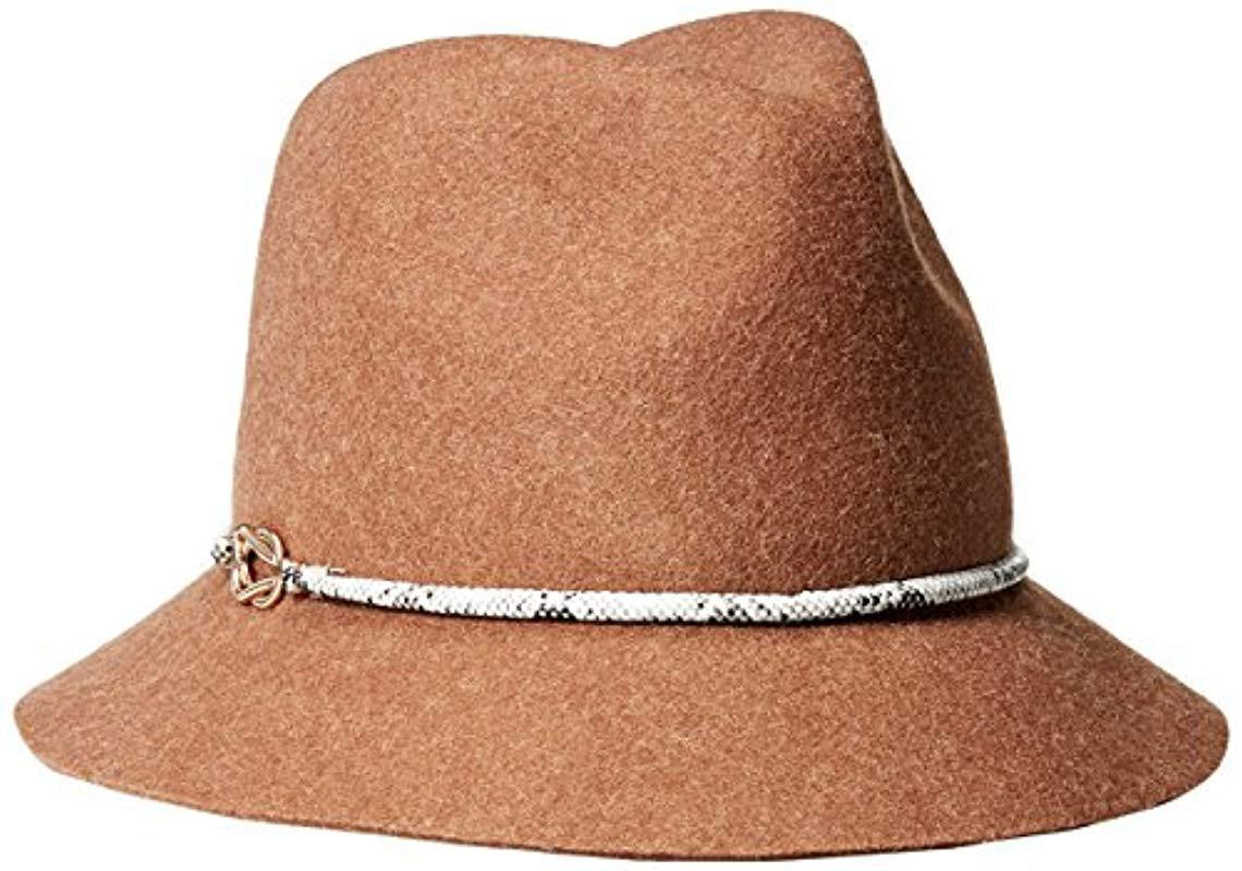 ad9ed3c690a Lyst - Genie By Eugenia Kim Jordan Wool Felt Fedora Hat With Vegan ...