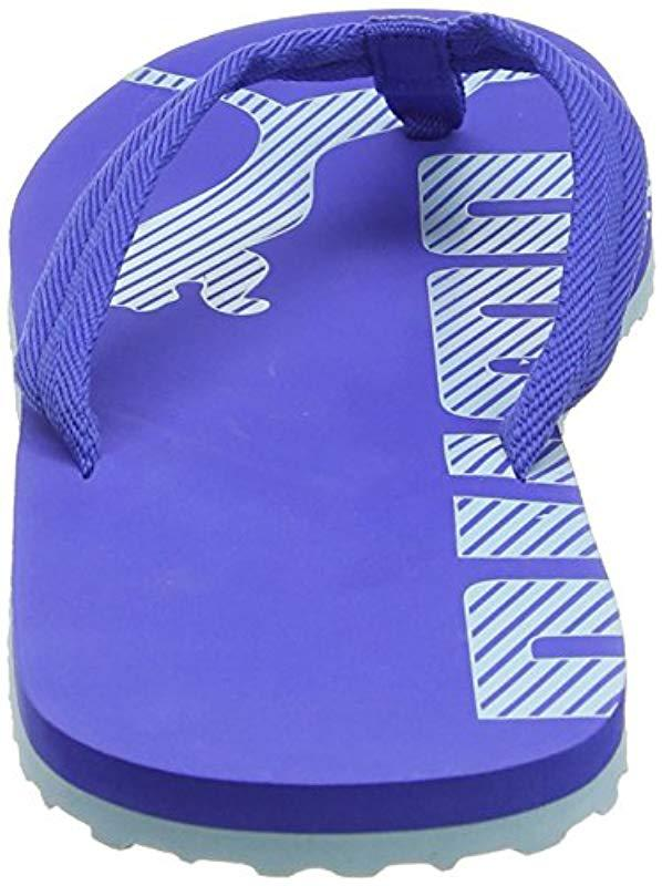 d9acf0f82f58e PUMA - Blue Unisex Adults  Epic Flip V2 Flops for Men - Lyst. View  fullscreen