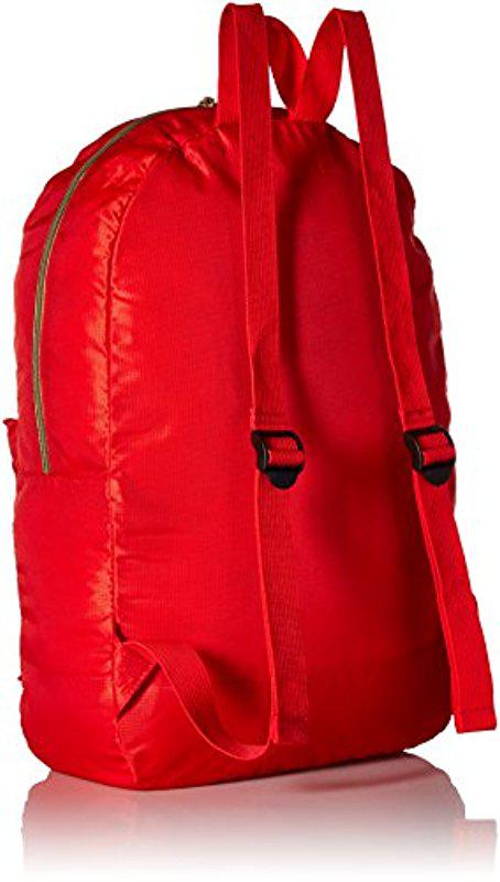 76d9f32e18e5 Lyst - Levi s Packable Nylon Backpack in Red for Men