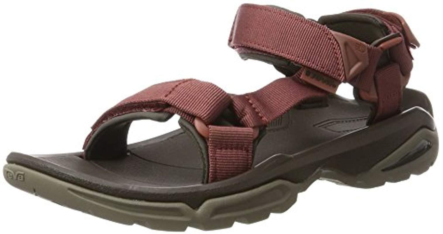 60ab881729fe Teva Terra Fi 4 Sports And Outdoor Hiking Sandal for Men - Lyst