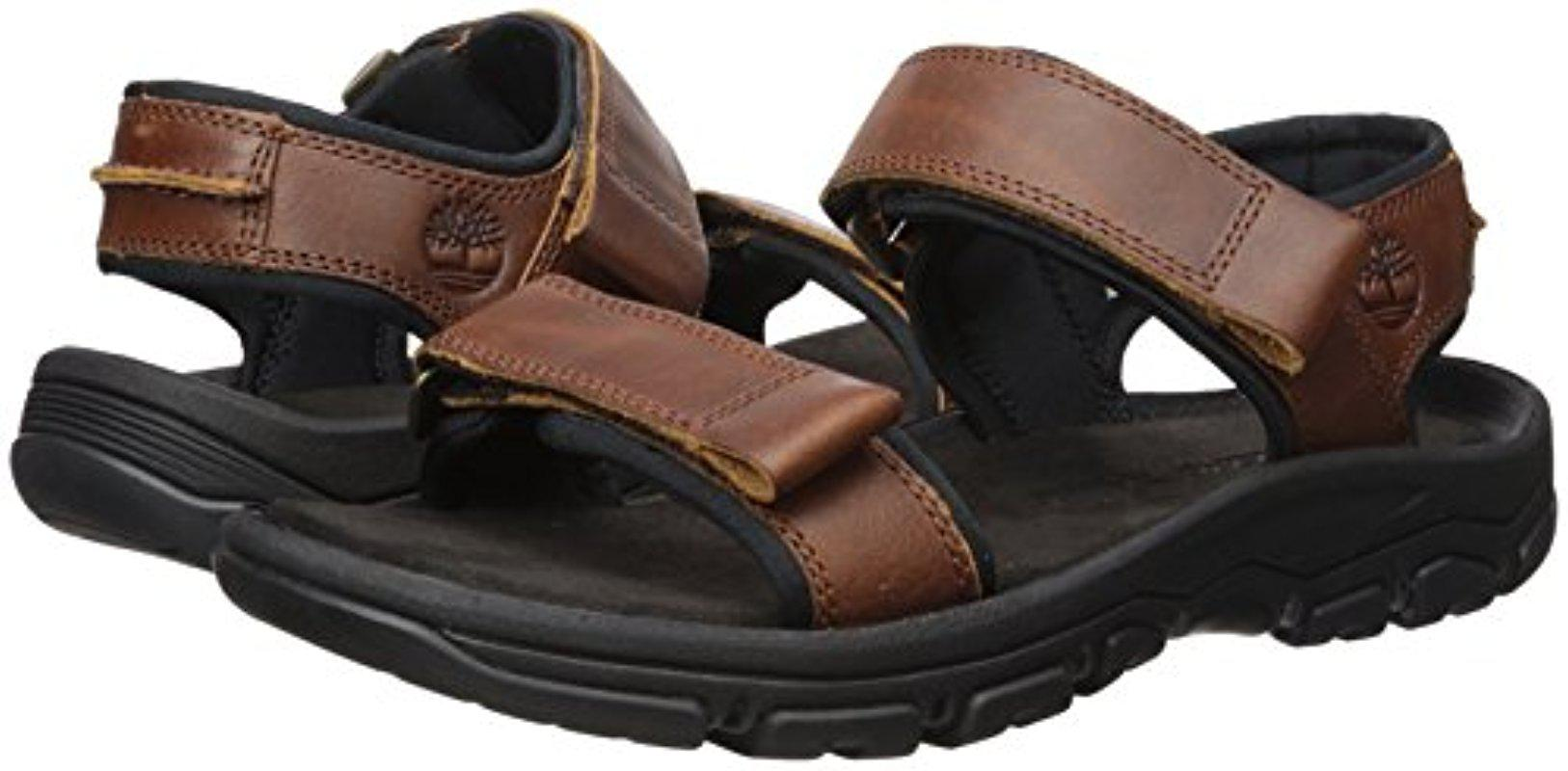 5481b478cc37 Lyst - Timberland Roslindale 2-strap Sandal in Brown for Men - Save 21%