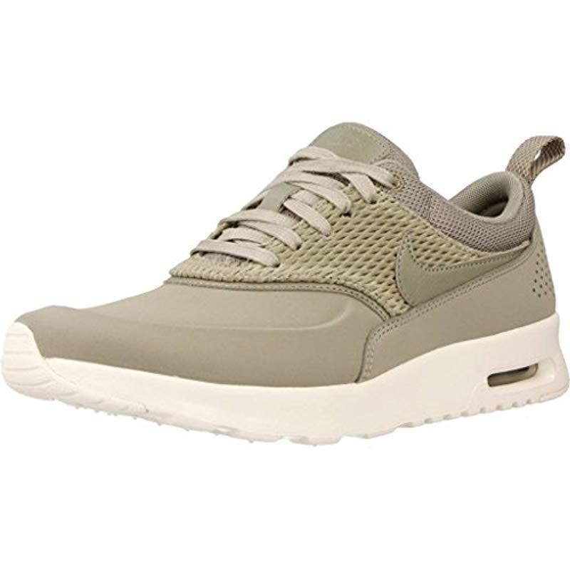 premium selection c46b8 7de6a Nike. Womens Green Air Max Thea Premium Trainers
