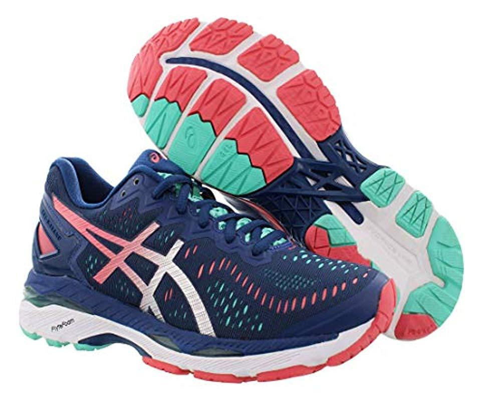 finest selection bd8f7 8ad94 Lyst - Asics Gel-kayano 23 Running Shoe in Blue - Save 3%