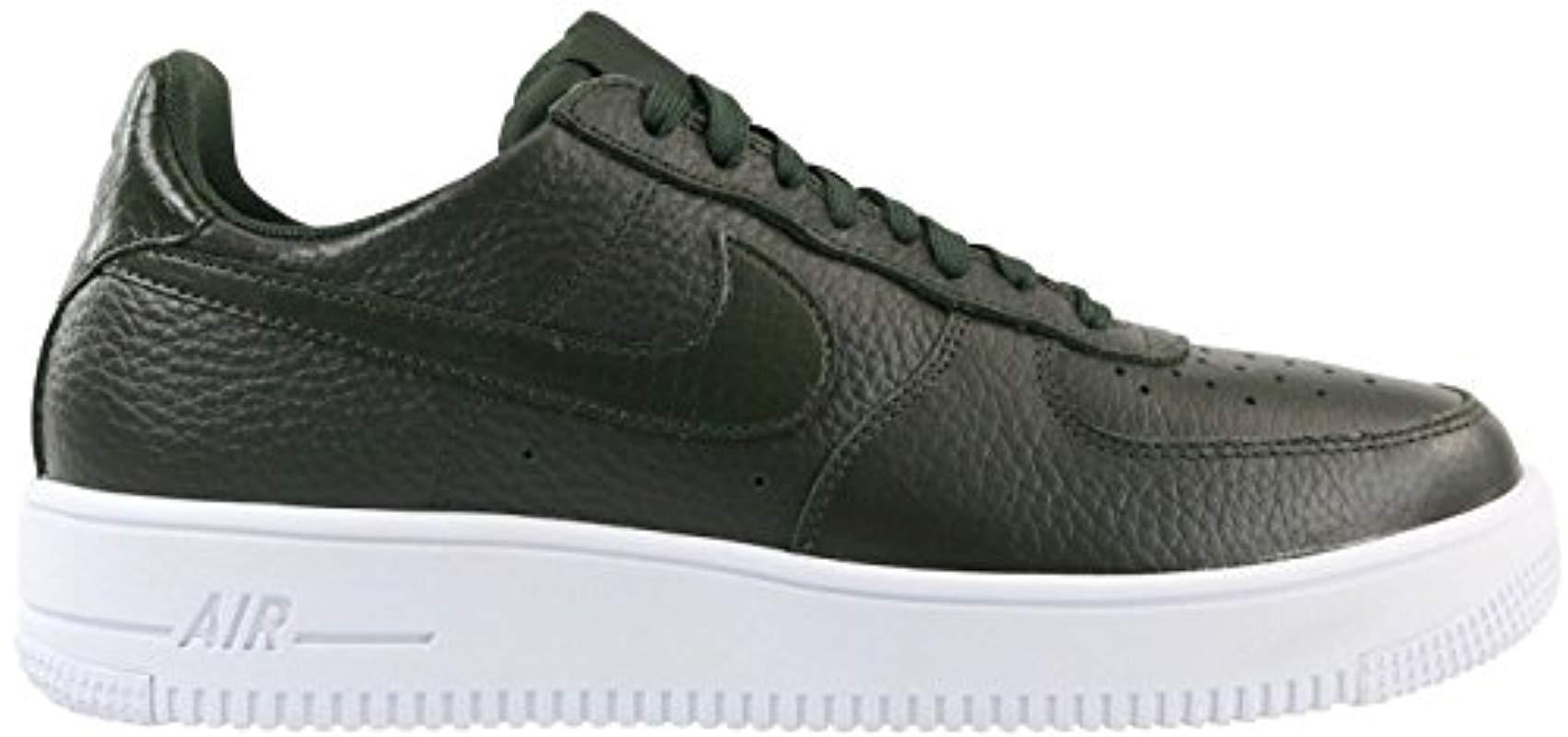 Nike Air Force 1 UltraForce Mid Premium Herren Olive Weiß 921126 002