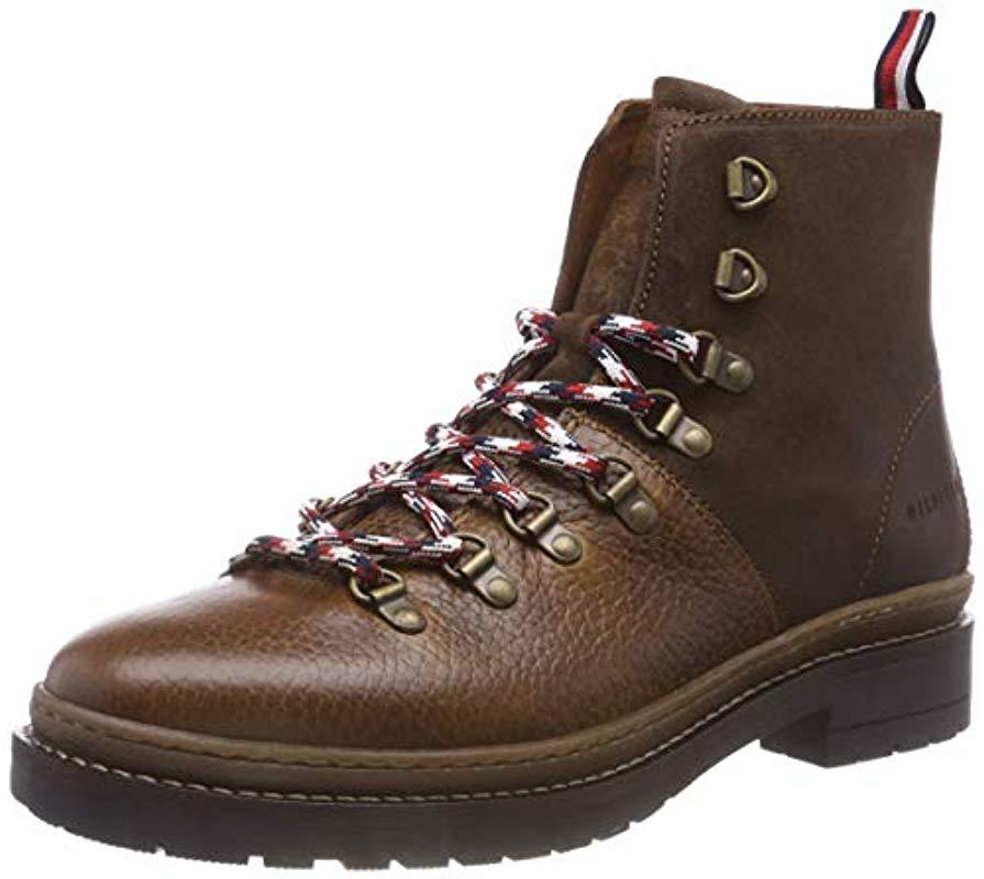 10c248eb968c4e Tommy Hilfiger Elevated Outdoor Hiking Boot Combat in Brown for Men ...