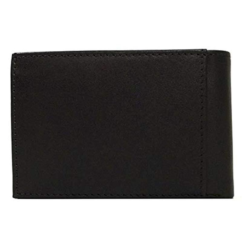 965b1832c Tommy Hilfiger - Small Trifold Wallet Black for Men - Lyst. View fullscreen