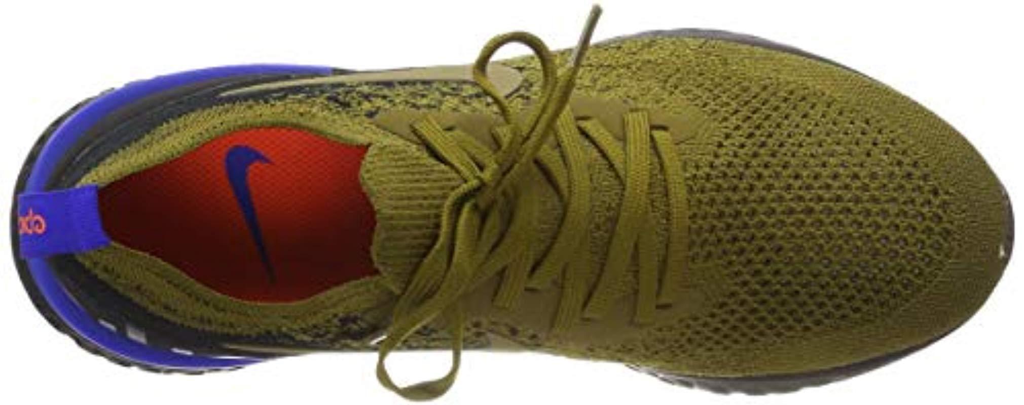 1a0f11ebabdf Nike Herren Laufschuh Epic React Flyknit Training Shoes in Green for ...