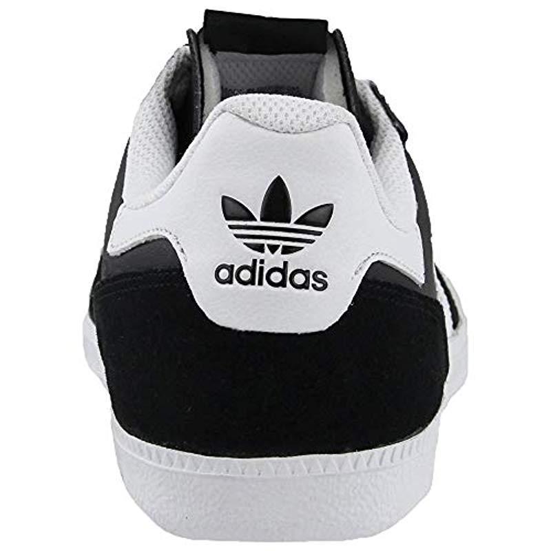 lowest price ba962 7407f adidas Originals Leonero Fashion Sneaker in Black for Men - Lyst