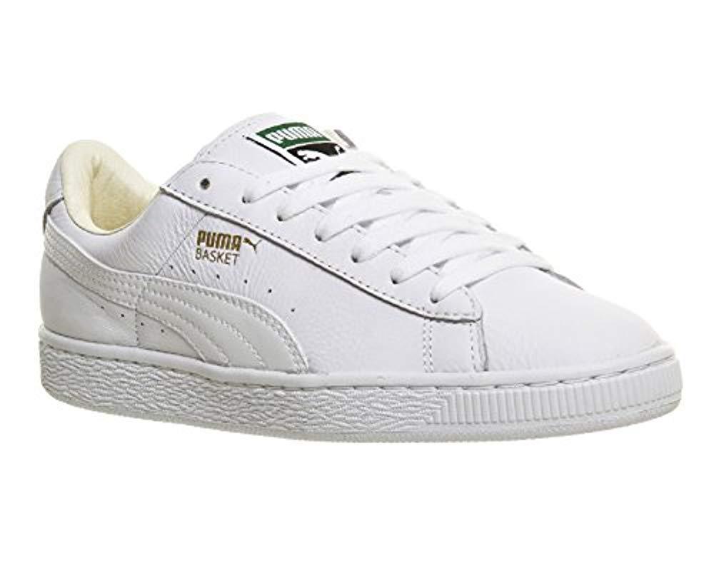 f9f4e2164d5b Puma Unisex Adults  Basket Classic Lfs Low-top Trainers White in ...