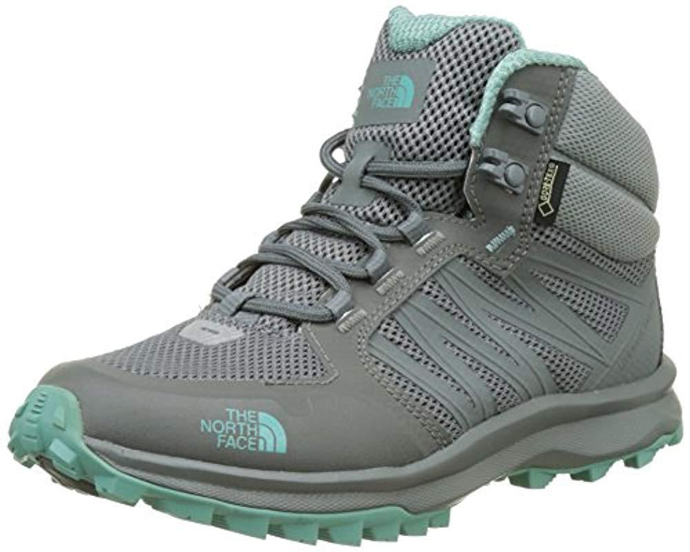 48b2aa3ed The North Face Litewave Fastpack Mid Gore-tex High Rise Hiking Boots ...