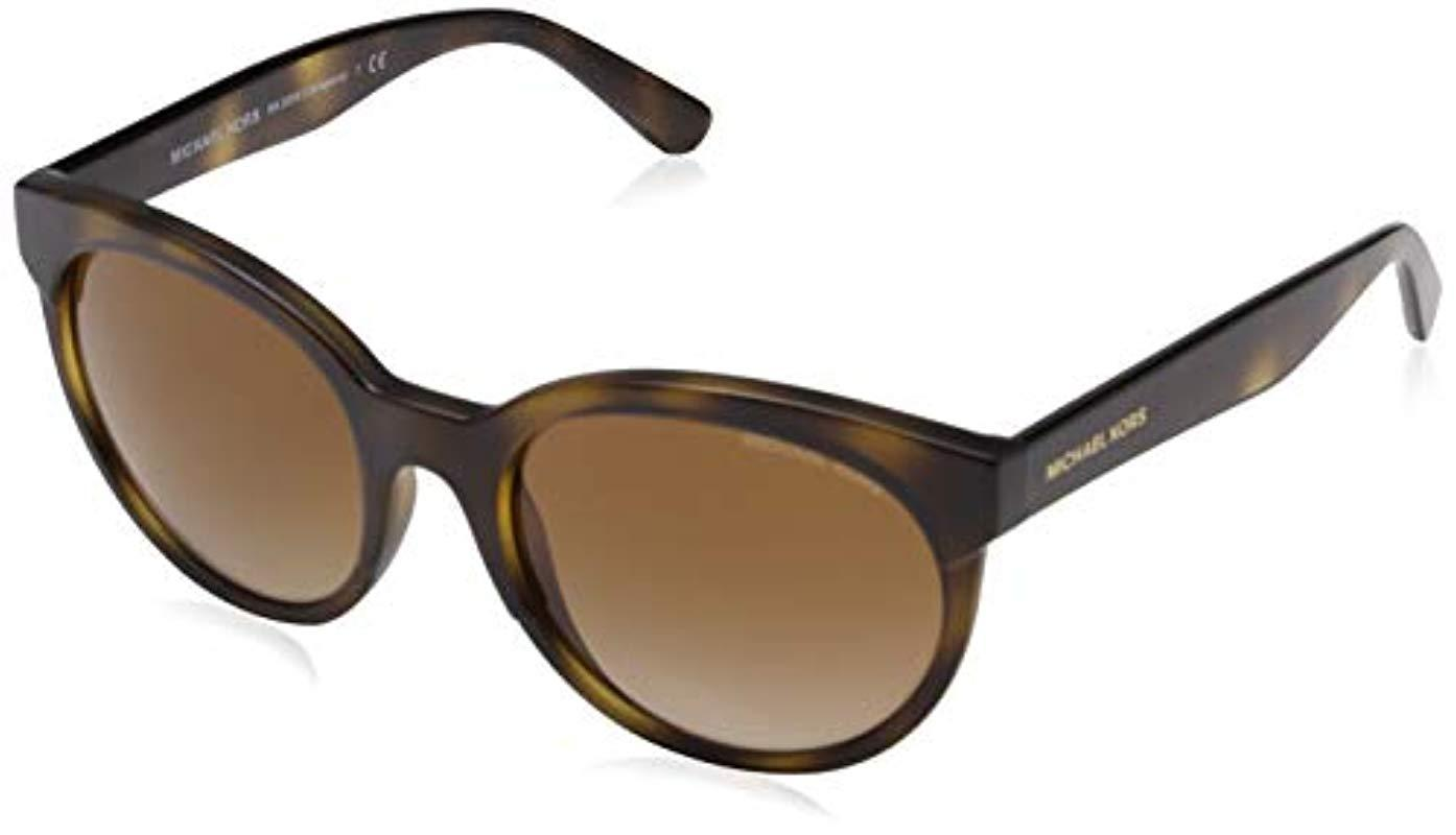 f097d02d8d9c9 Michael Kors. Women s 2059 Cartagena 333613 54 Rectangular Sunglasses ...