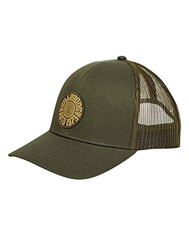 7ab19d295a6ed Lyst - Billabong Classic Trucker Hat in Green for Men