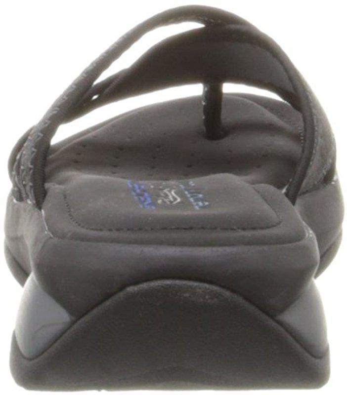 891956f164fc Lyst - Skechers Cali Promotes-excellence Platform Sandal in Black