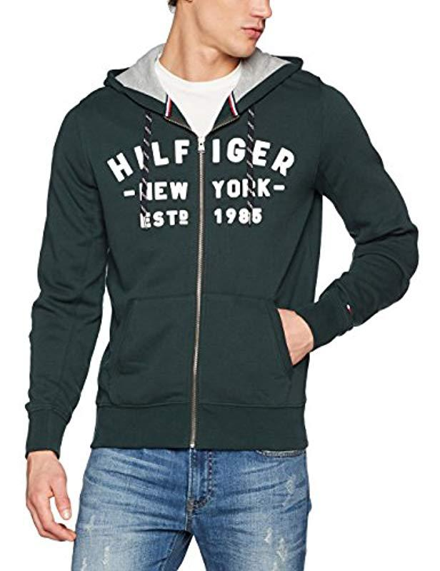 0b52c05705fa6 Tommy Hilfiger Pando Hdd Z-thru L s Vf Long Sleeve Top in Gray for ...