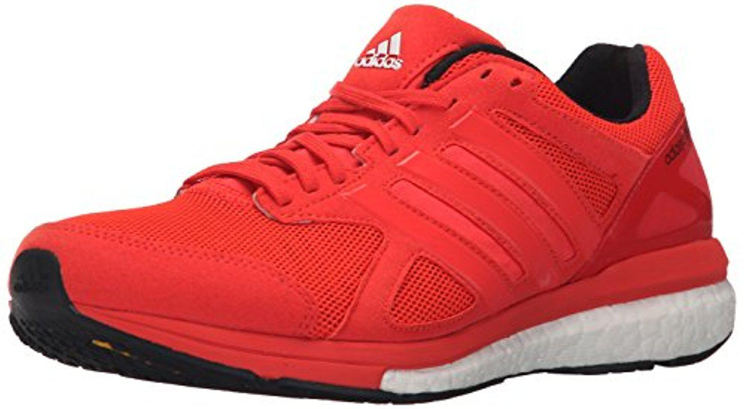 Adidas. Men's Red Performance Adizero Tempo 8 M Running Shoe