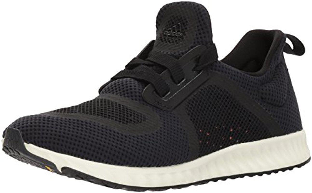 lyst adidas edge lux clima scarpa da corsa in nero