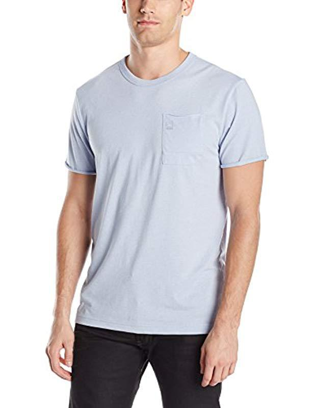 7e4b281a G-Star RAW Neigan T-shirt in Blue for Men - Lyst