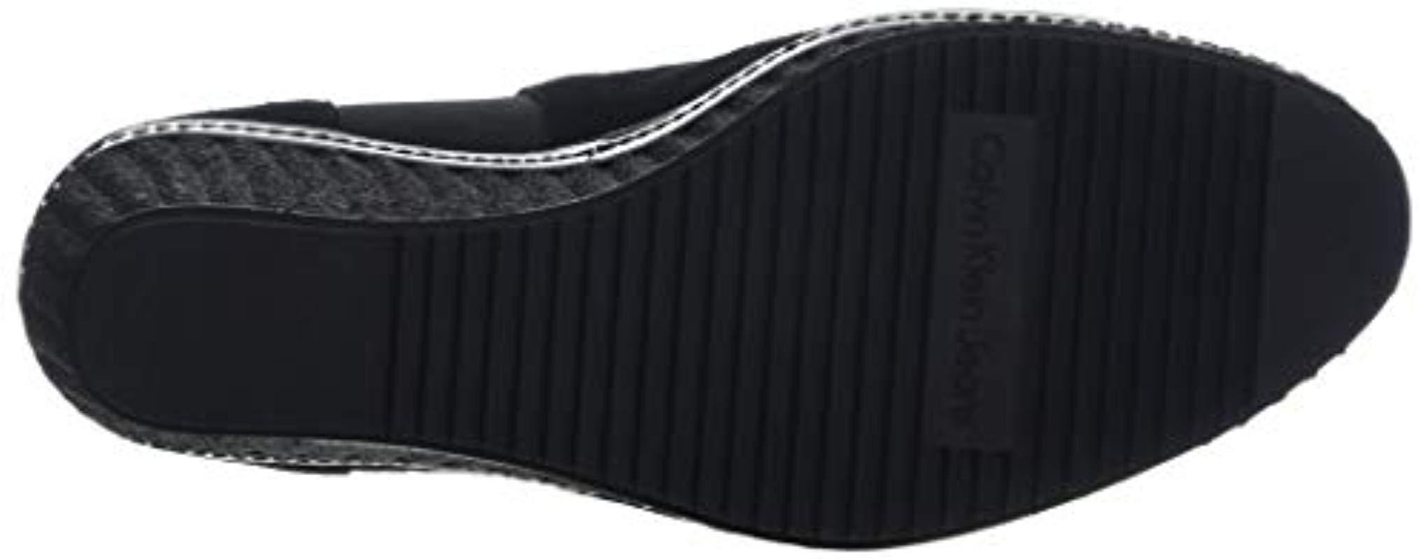 Calvin Klein - Black Shanna Suede Ankle Boots - Lyst. View fullscreen 1b67f55e4d4