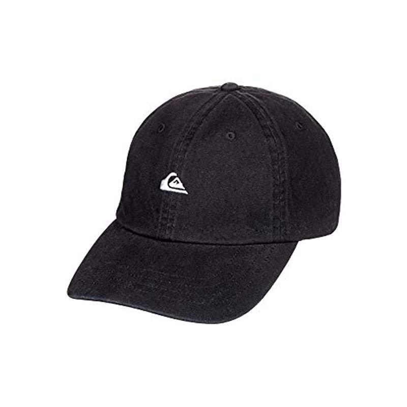 369499fb571 ... canada lyst quiksilver papa cap trucker hat in black for men save 10.0  f09d7 4b184