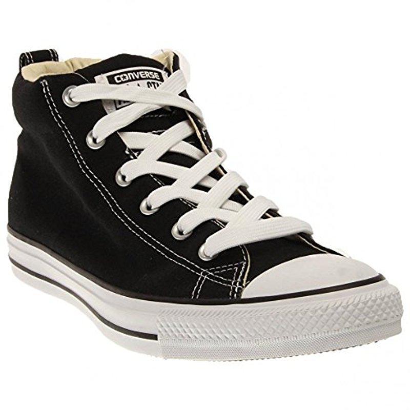 Lyst - Converse Street Canvas Mid Top Sneaker in Black for Men ... b238443d8d7