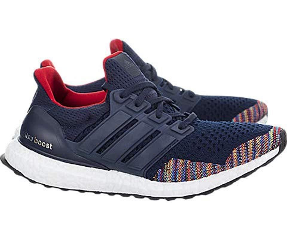 af084cd1b5c Adidas - Blue Ultraboost Road Running Shoe for Men - Lyst. View fullscreen