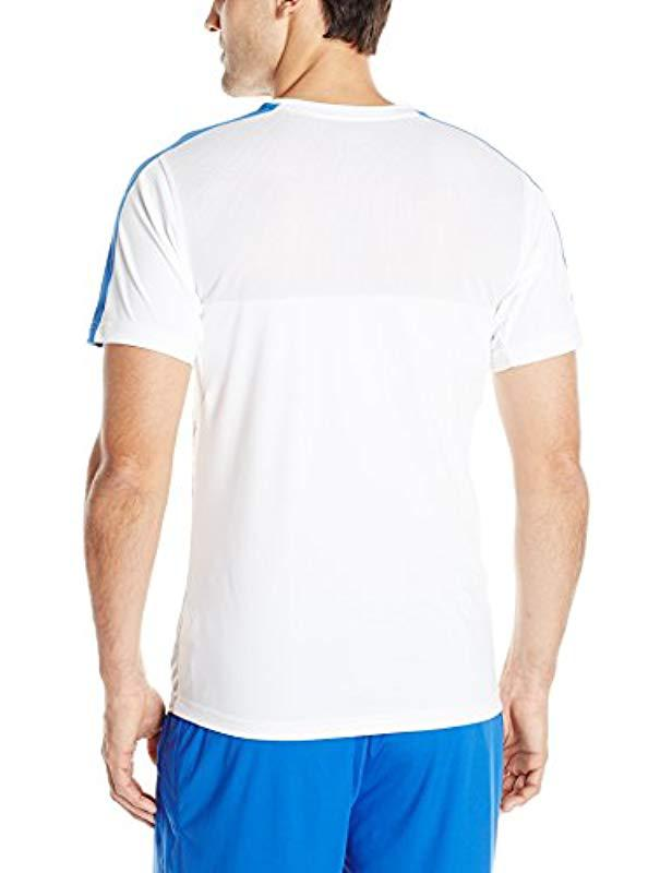 6d30bf77bf923 Lyst - Puma Figc Italia Training Jersey in White for Men